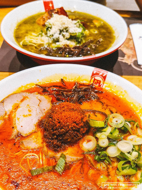 ramen nagi, ramen nagi philippines, green king ramen, red king ramen