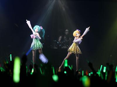 Vocaloid Animation Hologram Concert