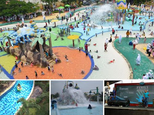 Transera Waterpark Harapan Indah Bekasi