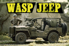 Build Review Pt II: 35th scale MB Military Vehicle (Jeep) Wasp Flamethrower from Meng
