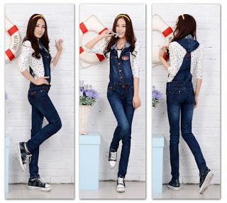 Model Celana Kodok Jeans Wanita Terbaru