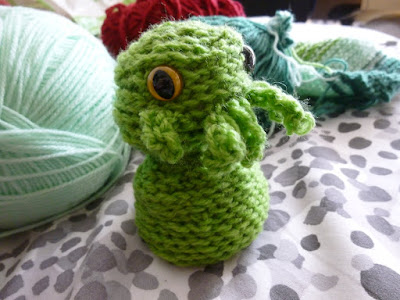 Crochet Cthulhu in progress
