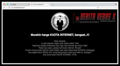 siapkan situs, situs web telkomsel dihack, Kejadian, Teknologi, Dalam Negeri, Indonesia, situs web, tak disangka, bikin heboh,