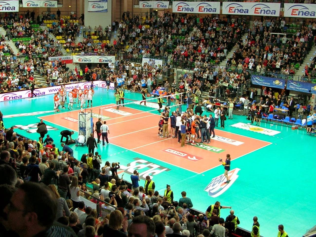 finał Pucharu Polski, siatkówka, mecz, gra