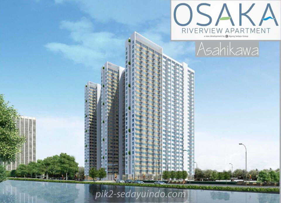 Dijual Apartemen Osaka Riverview PIK 2