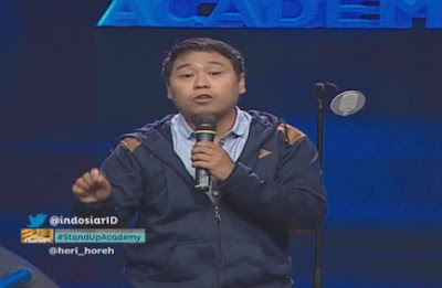 Heri Hore Jakarta stand up comedy academy indosiar