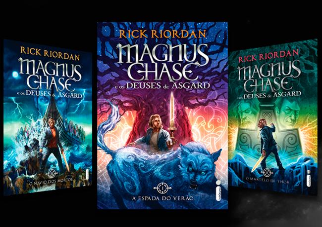 Magnus Chase e os Deuses de Asgard', de Rick Riordan - All POP Stuff