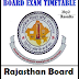 Rajasthan 12th Time Table 2018 Arts Science Commerce PDF AJMER Board