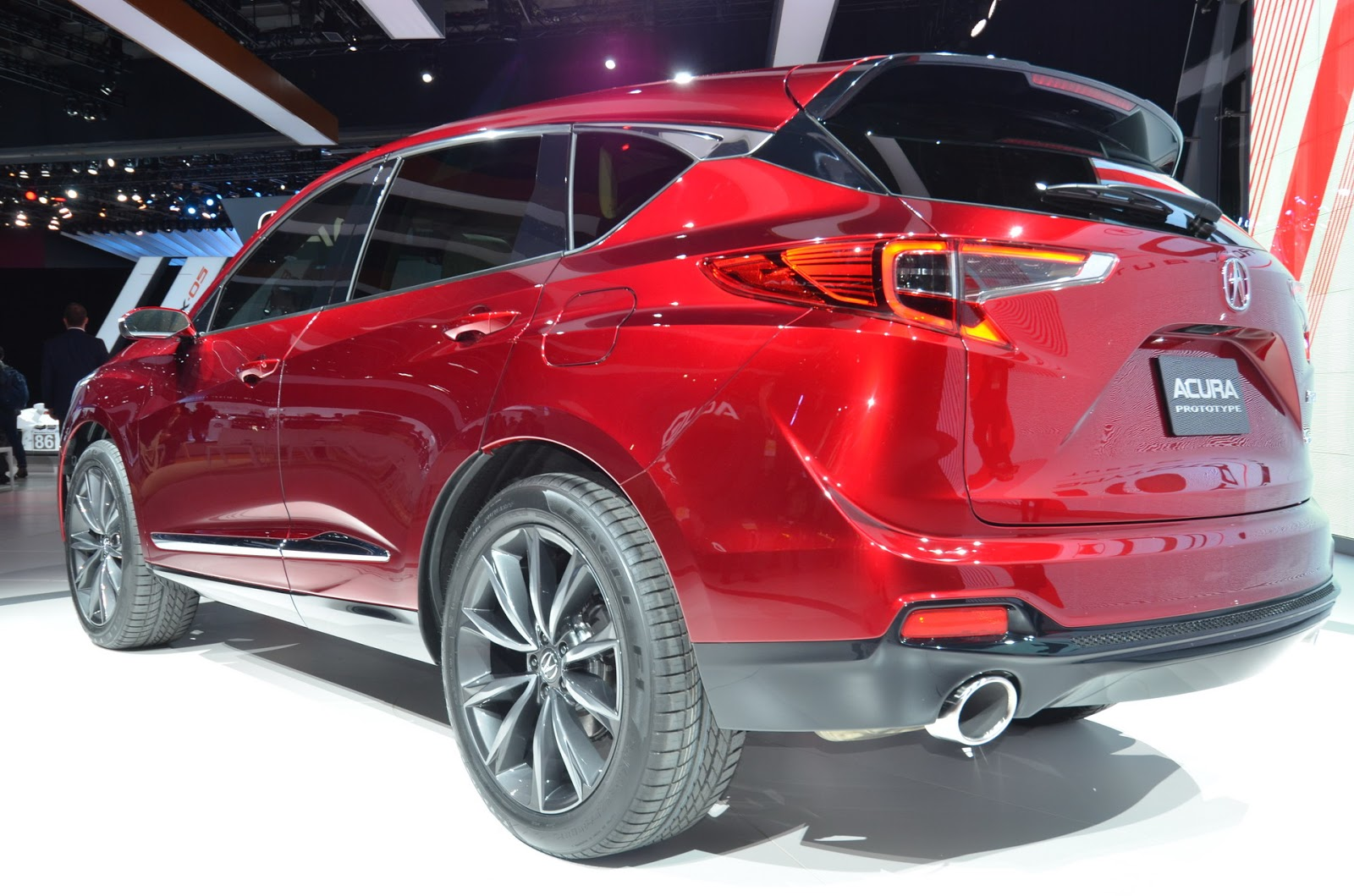 2019 acura rdx prototype almost ready for the road carscoops. Black Bedroom Furniture Sets. Home Design Ideas