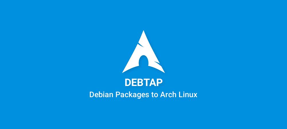 Cara convert paket .deb menjadi paket Arch Linux (Debtap)