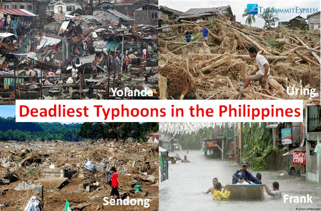 10 Deadliest Typhoons In The Philippines The Summit Express