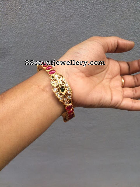 Pearls Set and Bangles in 92.5 Silver