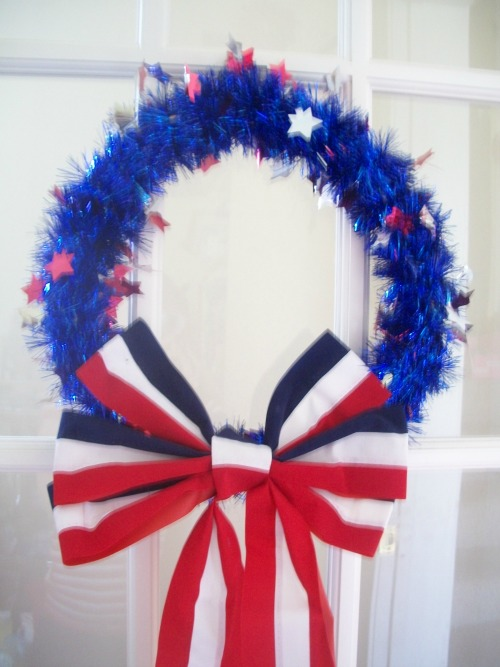 Easy Wreath, Memorial Day, 4th of July