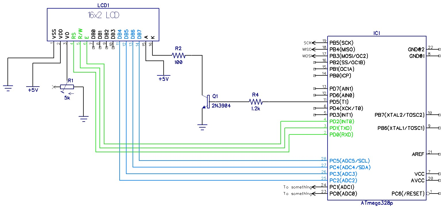 Alien Transducer: LCD Interfacing 4 and 8 bit mode library