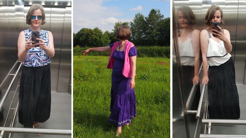 Hochsommer: Freizeit und Bürooutfits incl. Sonnenschutz