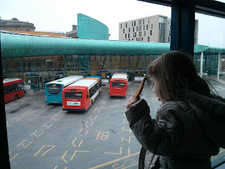 watching buses