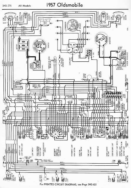 wiring free: Wiring Diagram of 1957 Oldsmobile All Models