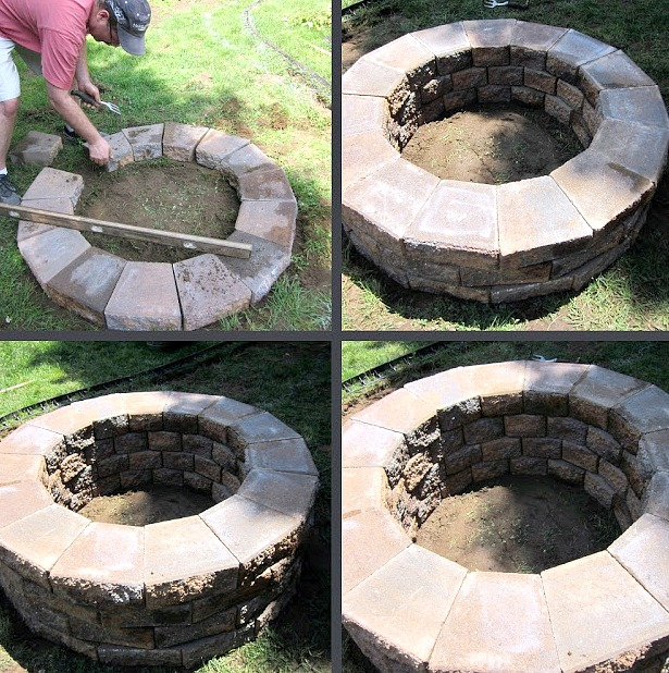 How to build a DIY backyard fire pit