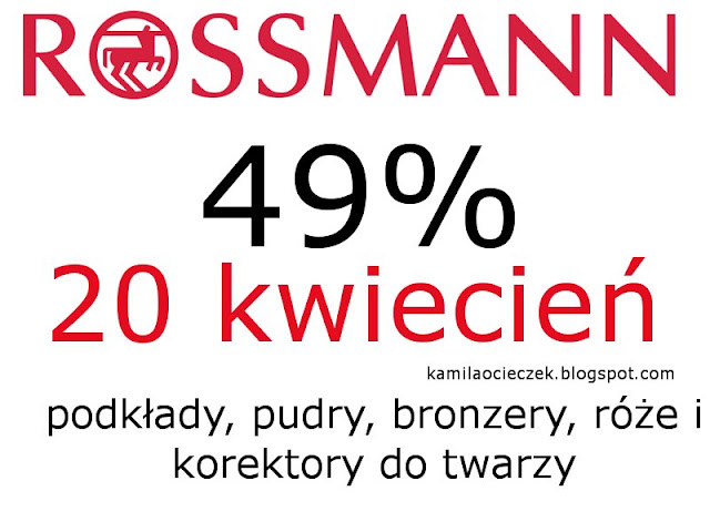 Promocja -49% w Rossmann