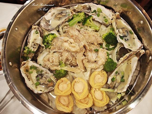 Kai's Plato Seafood Restaurant Steam Seafood Tier 1