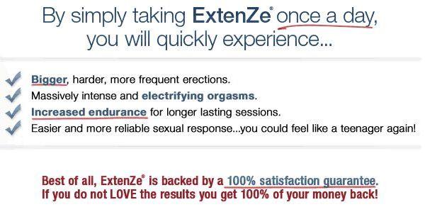 Benefits of Extenze