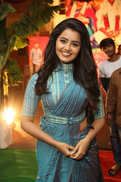 Anupama Stills At Shatamanam Bhavathi Audio Launch