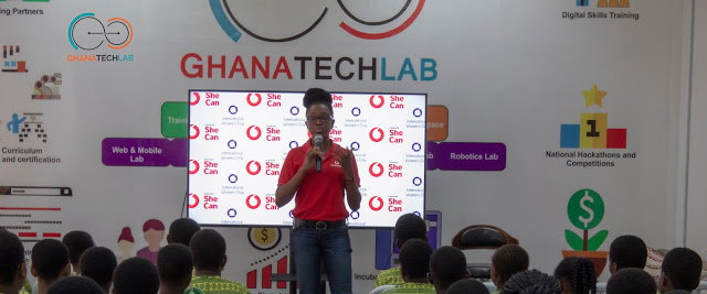 Vodafone Empowers Young Girls To Mark International Women's Day