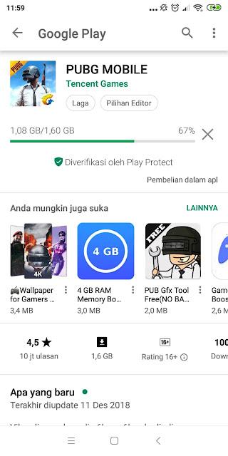 Spesifikasi Smartphone Untuk Main PUBG Mobile
