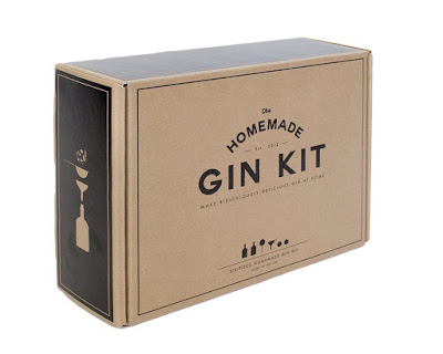 making home made gin with a kit