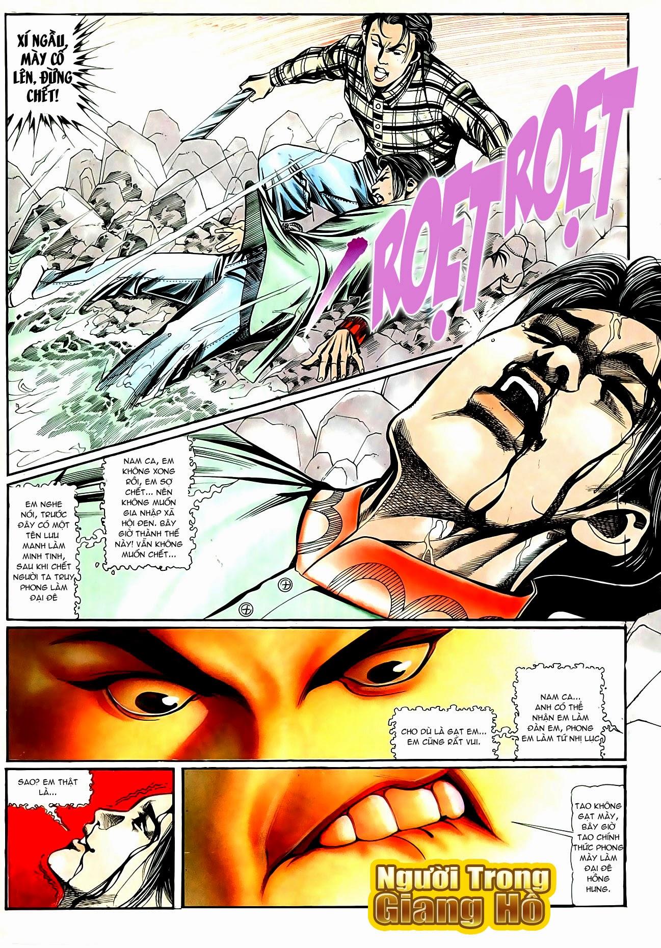 Người Trong Giang Hồ chapter 90: giang hồ hiểm trang 13