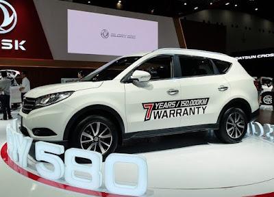 Harga Mobil SUV Glory 580