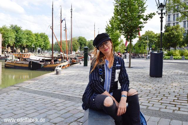 die Edelfabrik, martimier Look am alten Hafen in Rotterdam