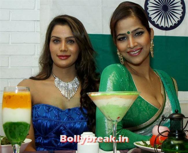 Shamika and Tanisha Singh, BGrade Movie Actresses Celebrate Republic Day at Peninsula Grand