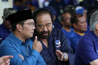 Saan Mustofa: Ada yang Ingin Adu Domba Ridwan Kamil dan Nasdem