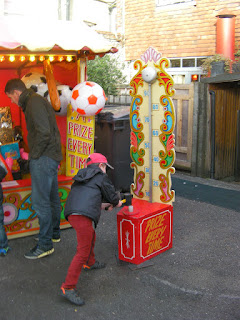 prize every time game at village fayre arundel street market