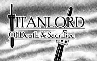 Titanlord manga web comic cover