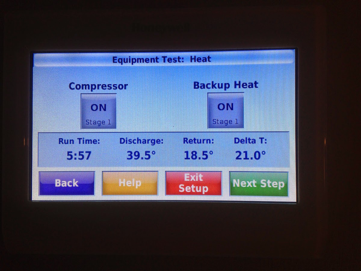 The Fix It Blog Sorting Things Out Installing Honeywell Iaq Thermostat Wiring Diagram Testing Equipment To Determine Baseline Temperature Rise With This Information You Can Set Alerts