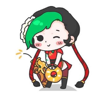 Ảnh Avatar LMHT Jinx Chibi Đẹp Cute