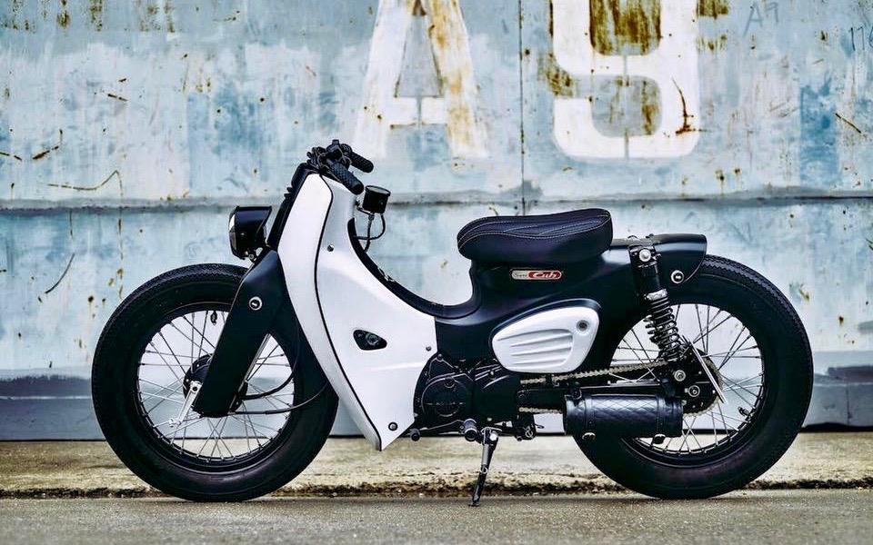K speed honda cub custom sumally for Honda classic 2018