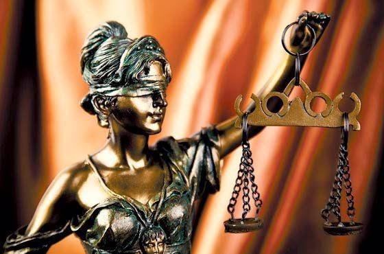 Representacion de la justicia en roma