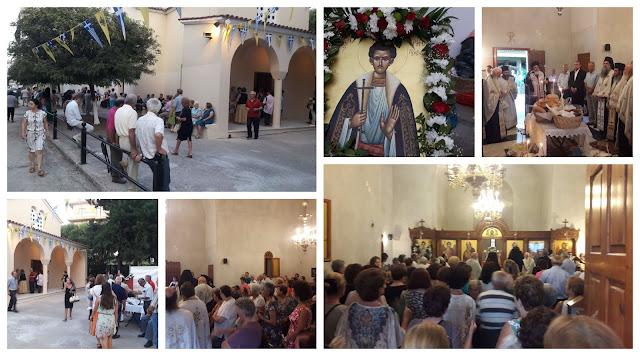 Πρέβεζα: Tη μνήμη του Αγίου Χρήστου Πρεβέζης τίμησε η Ιερά Μητρόπολη