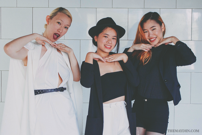 Brunei Style Blogger May Cho with Min of Discofissh and Phoebe Chok