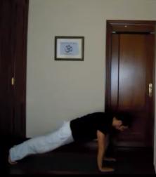 Flexión de brazos en extensión