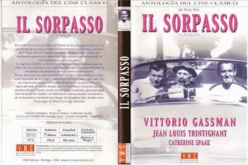 Carátula 2 dvd: La escapada (1962) (Il Sorpasso)
