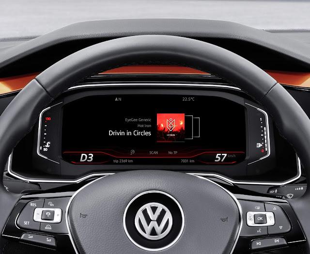 Fiat Argo x Volkswagen Polo 2018 - painel