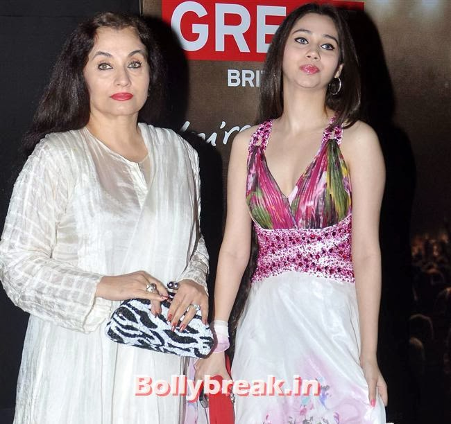 Salma Agha and Sasha  Agha, Kangana Ranaut, Others at Bollywood in Britain App Launch