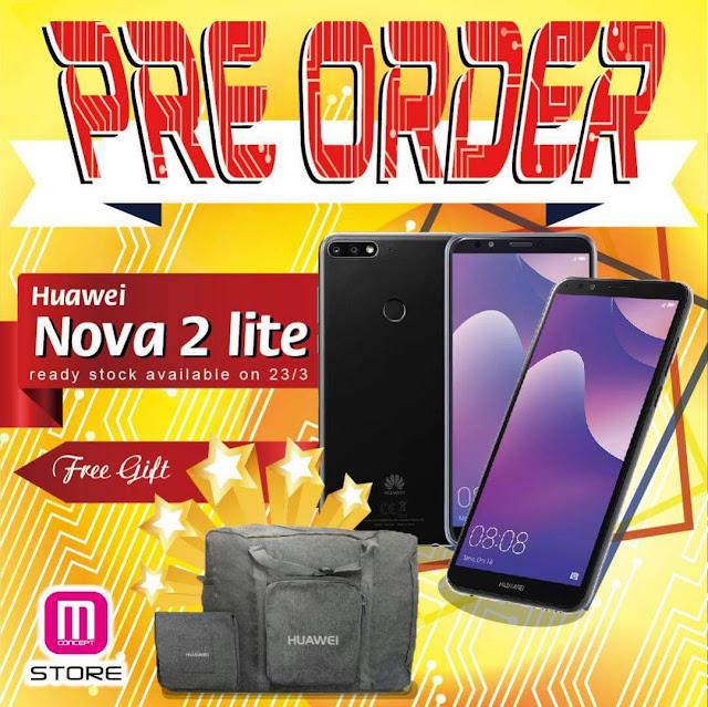 Smartphone terbaru Huawei Nova 2 Lite