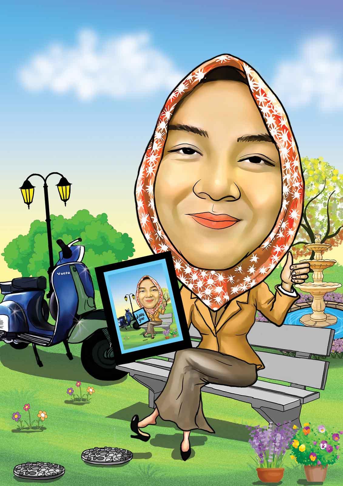 Jasa Karikatur Wajah Karikatur Digital Dan Manual 2017