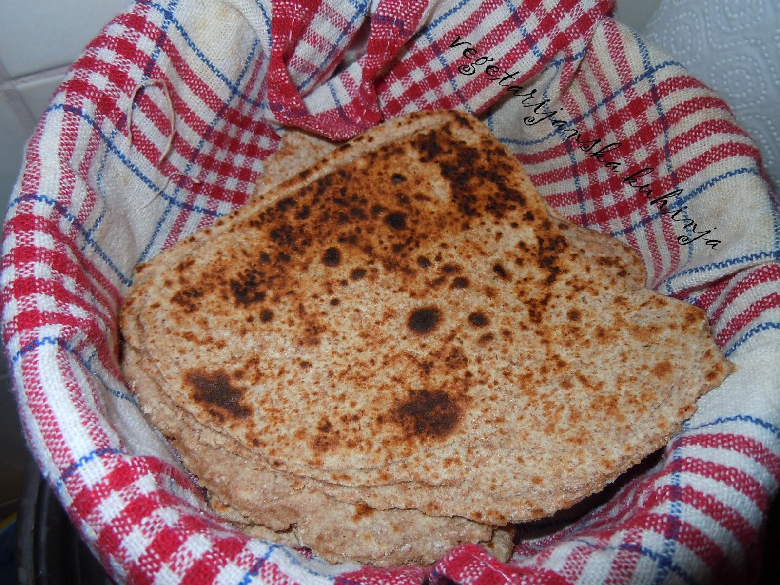 indijski kruh hljeb hleb paratha