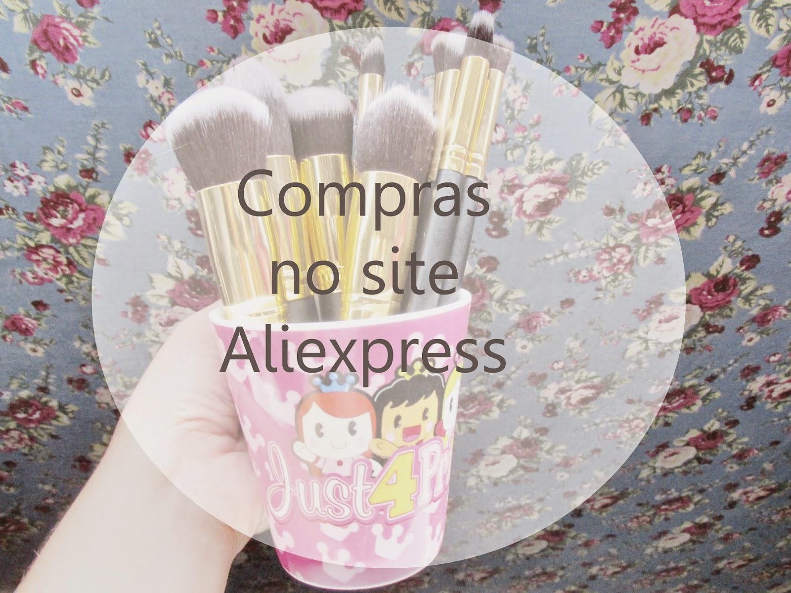 Oie meninas o post de hoje é para mostrar algumas comprinhas do site  Aliexpress que para quem não sabe é o maior site chines de compras e aqui  no blog tem ... 3244d0cf8b